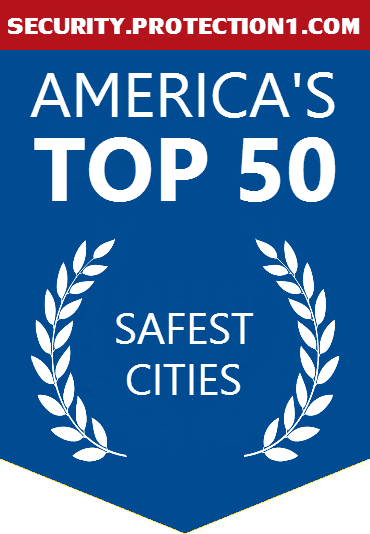 Top 50 Safest Cities in America